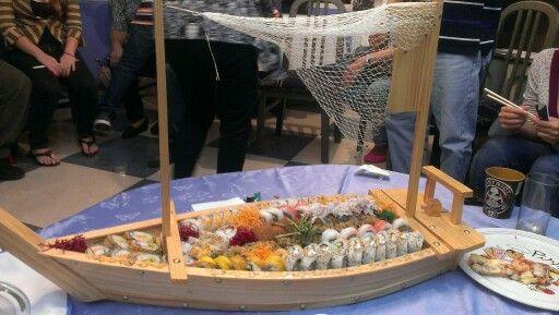 Barco de Sushi Restaurat de Coro Falcon Venezuela