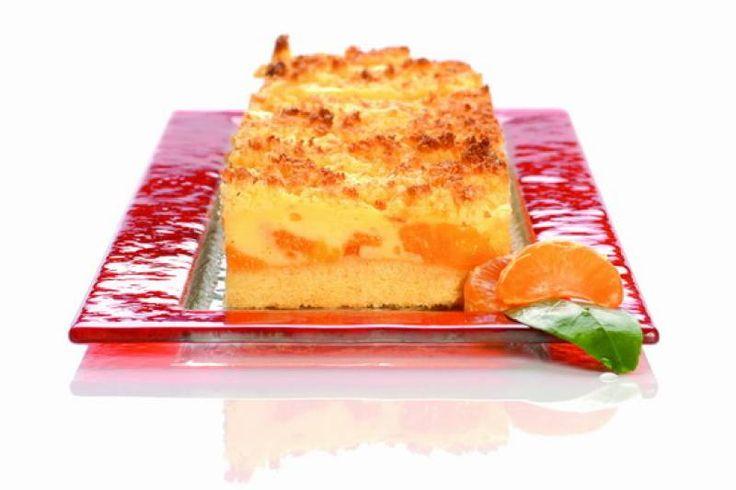 Mandarinos puding szelet