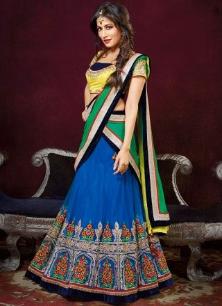 Chitrangada Singh Fancy Designer Embroidery Work  Lehenga Choli http://www.angelnx.com/