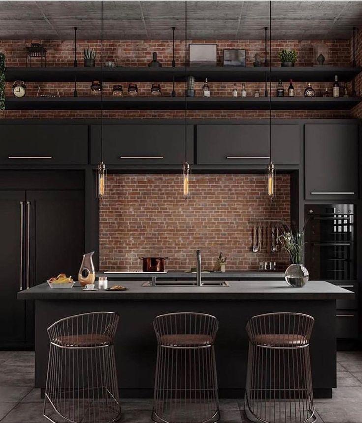 Kitchen Industrial Style Livestyle Interior Decor