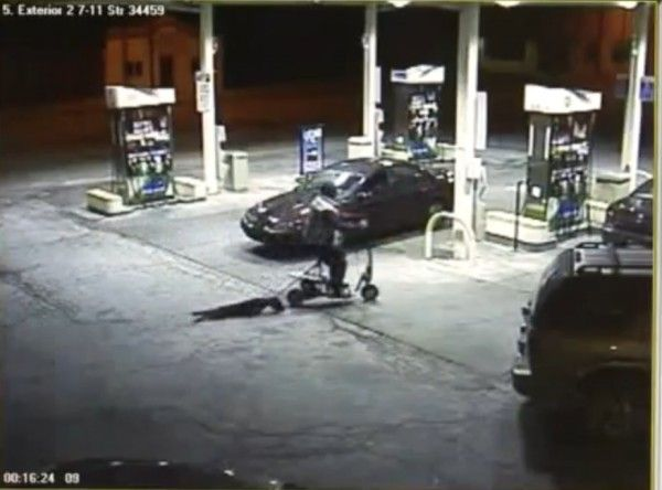 THIS MAN WAS FILMED DRAGGING HIS DOG BEHIND HIS MOTORISED SCOOTER  PLEASE SIGN TO GET THIS POS PUNISHED !!!!!!!! http://www.yousign.org/en/puppy-dragged-scooter