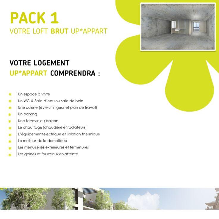 Pack 1 : Votre loft brut UP*APPART