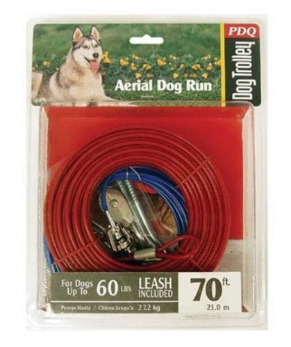 PDQ Q5070-000-99 Dog Trolley System, 70'