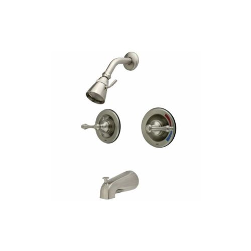 Two knobs pressure and flow  from Elements of Design   260 in Satin7 best Replacements for a two knob shower faucet images on  . Two Knob Shower Faucet. Home Design Ideas