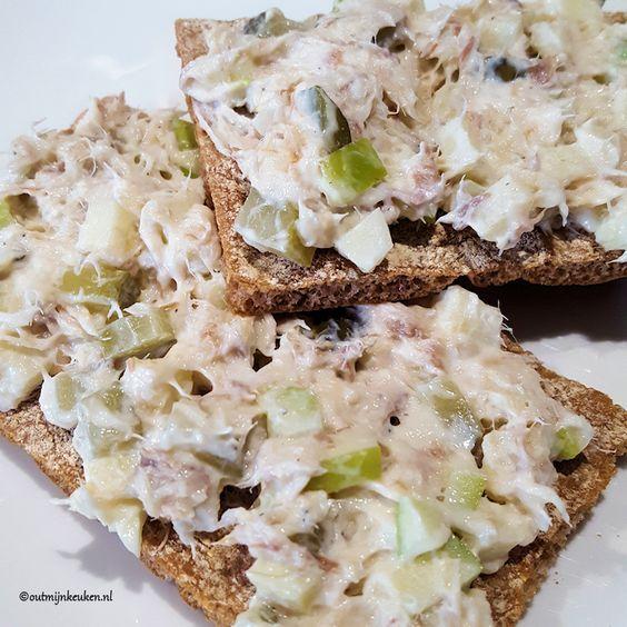 lunch makreel salade