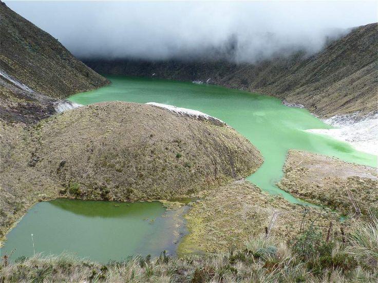 Volcán Azufral - Túquerres (Nariño).
