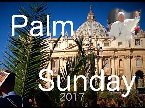 Palm Sunday 2017!  #smallyoutuber #smallyoutubers
