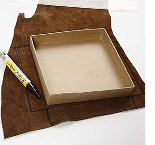 how to make a cardboard box bigger