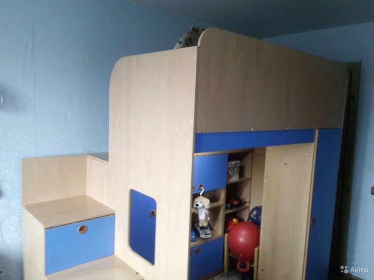 Продам Кровать-чердак за 7000 руб. http://kovrov.city/wboard-view-2960.html  Отличная кроватка для вашего малыша! Безопасное спальное место с высокими бортами. Внизу домик с ящиками. +матрас Аскона.Торг.