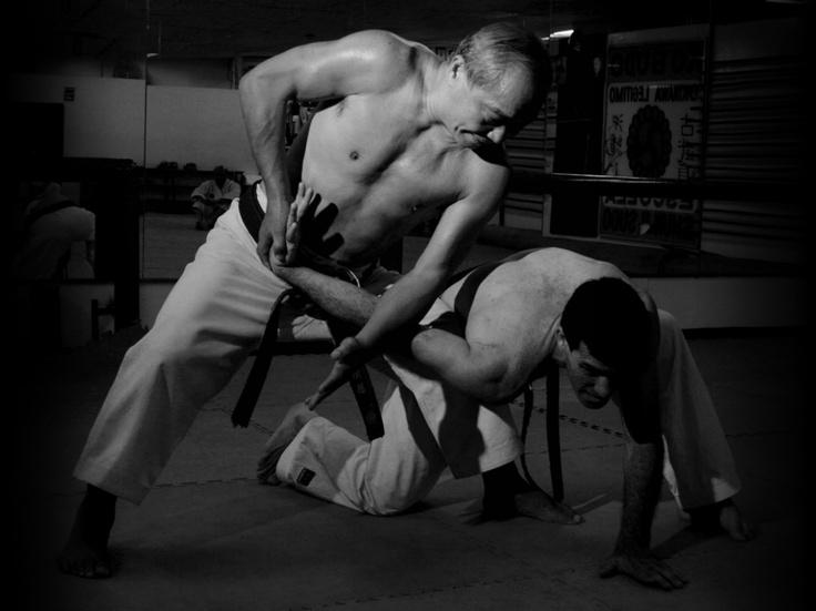 Shihan Shunji Sudo, de Okinawa Goju Ryu Karate Do. Mi maestro.