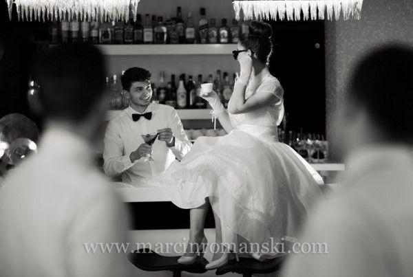 Ślub i wesele inspirowane filmem ''Śniadanie u Tiffaniego''. Panna Młoda jako Audrey Hepburn - abcslubu.pl
