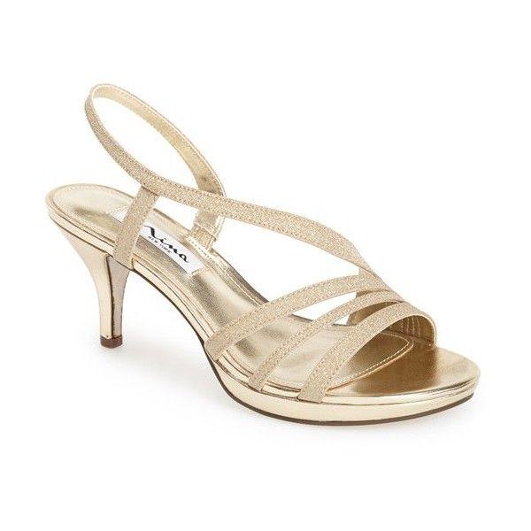 1000  ideas about Gold High Heel Sandals on Pinterest  Gold high