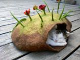 Landlust - Gefilzte Katzenhöhle