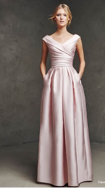 acik pembe mezuniyet elbise modeli 2015