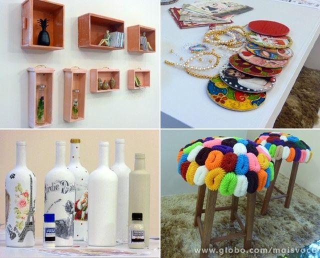 Jl Artesanato Minas Gerais ~ ideias reciclagem decoracao RECICLAGEM Pinterest Ems