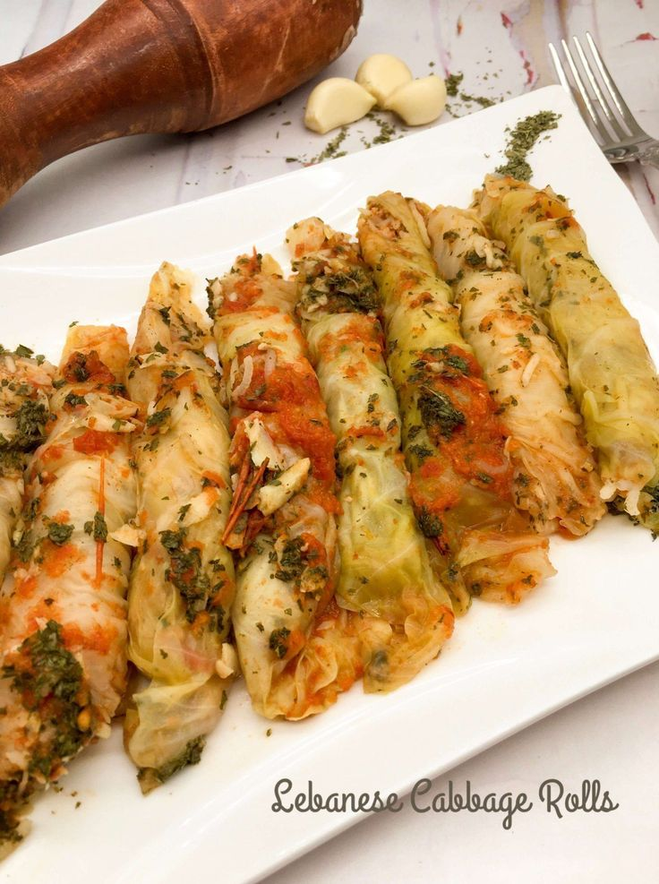 Lebanese Cabbage Rolls (Malfoof) l Recipe Nomad