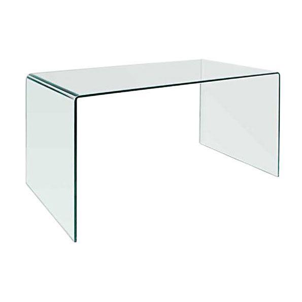 denmark modern glass desk