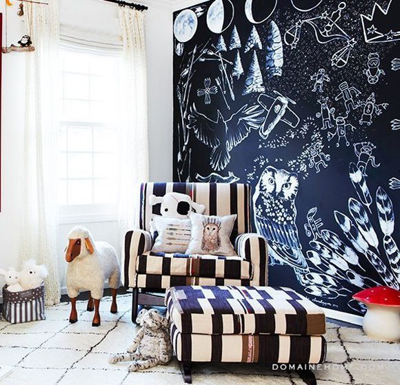 Eclectic nursery design for celebrity stylist Simone Harouche!
