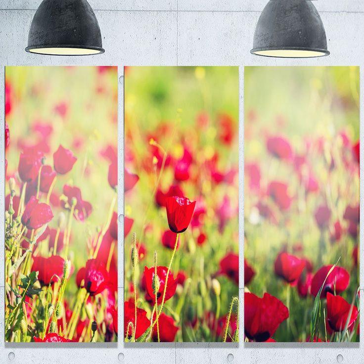 Beautiful Metal Poppy Wall Art Pictures - Wall Art Ideas - dochista.info