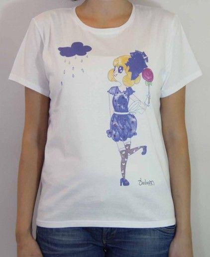CAMISETA NIMBUS B http://www.badoom.es/tienda/camisetas/
