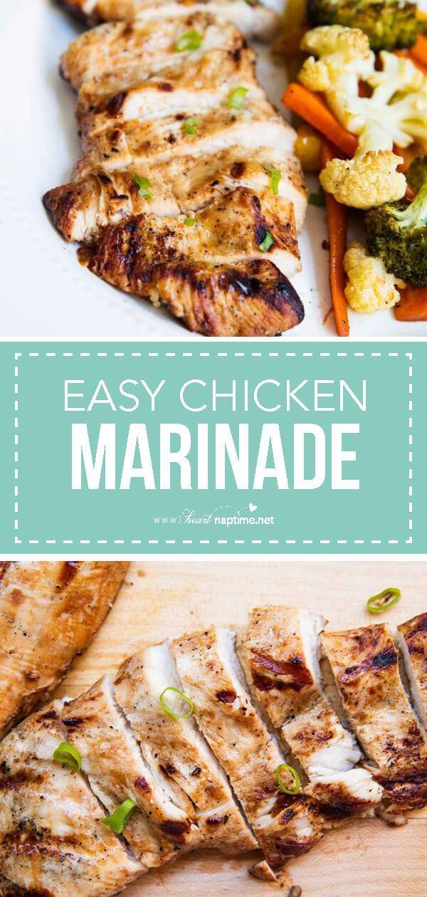 Best Easy Chicken Marinade Recipe Easy Chicken Recipes