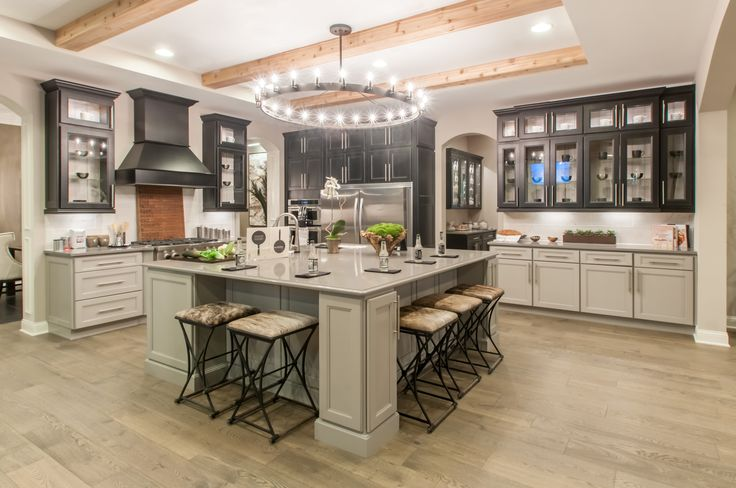 1000+ images about Kitchens ~ Contrasting Cabinets & Colored Cabinets