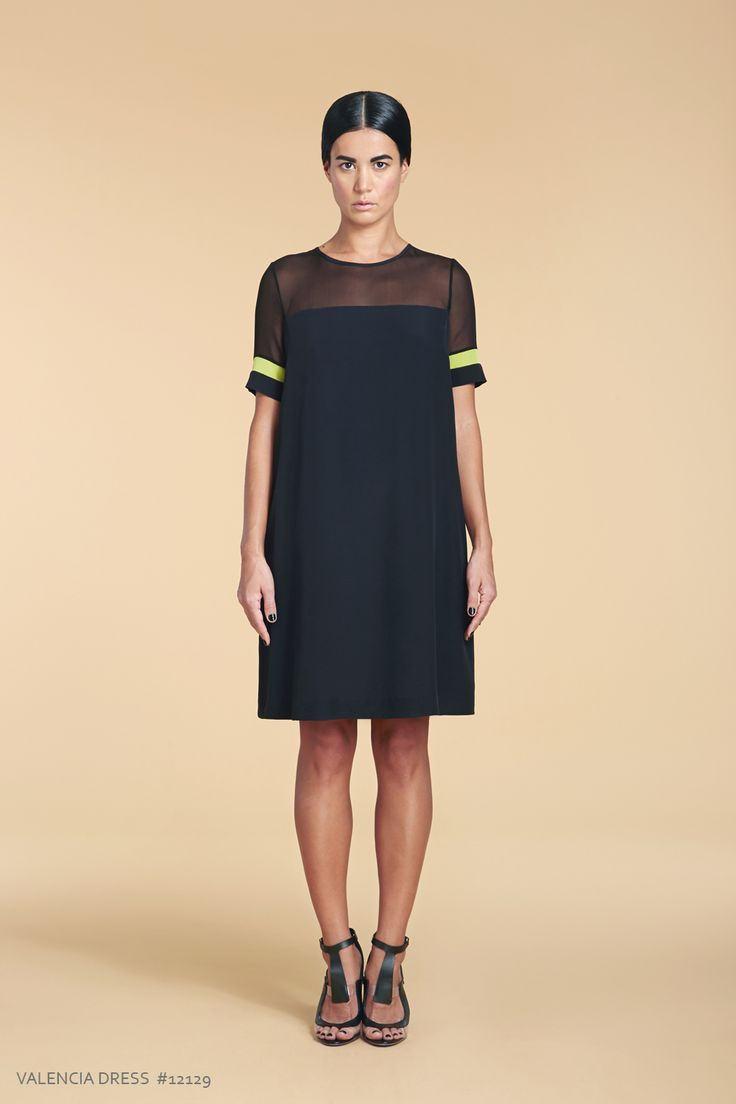 Sporty and chic silk dress from Lankka's SS/15 collection