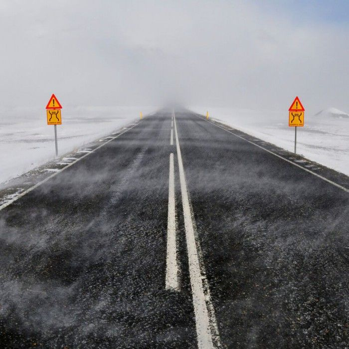 WARNING – Extreme Storm. NO travel conditions in Iceland today!
