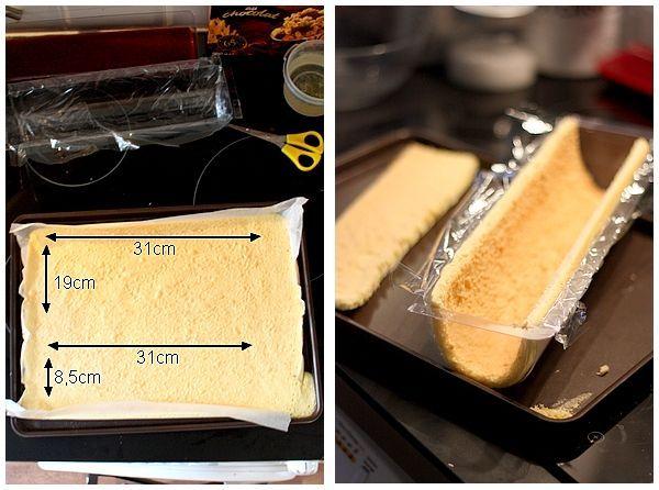 {23} Bûche mangue et framboise   Gourmandiseries - Blog de recettes de cuisine simples et gourmandes   Bloglovin'