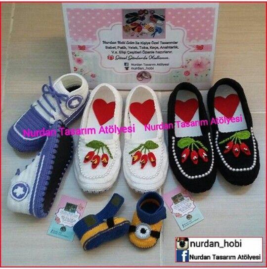 Elişi, örgü converse ayakkabı, babet, shoe, shoes, slipper, bot, boot, boat, boties, slipper, stiletto, minion, minions, timberland, babettes, babyshower,