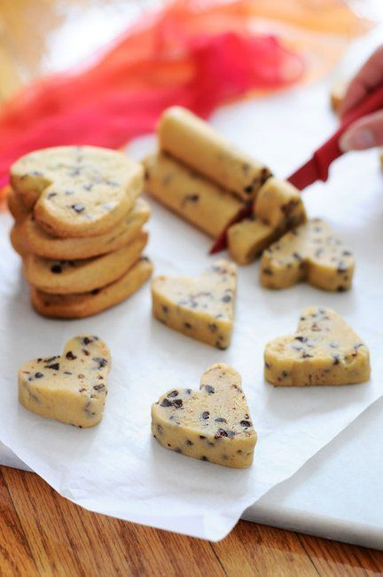 Heart Shaped Cookies the Easy Way!!