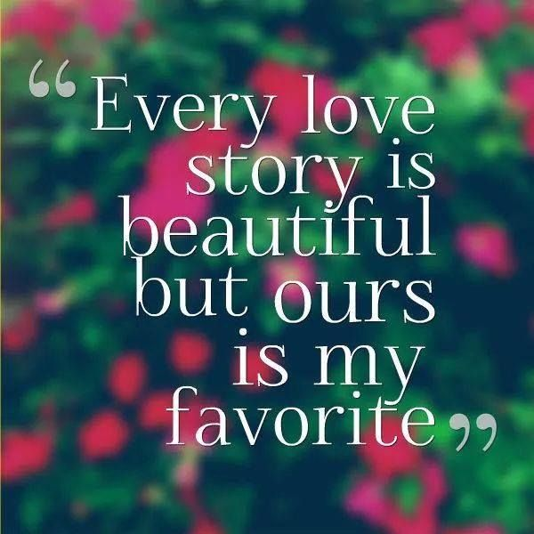 every love story is beautiful love pinterest