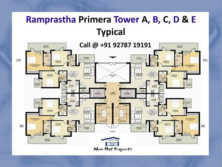 Special offer on 3 BHK luxury apartment units in Ramprastha Primera at the prime location of Sector 37D in Gurgaon.