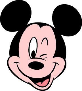 Caras mickey mouse para imprimir