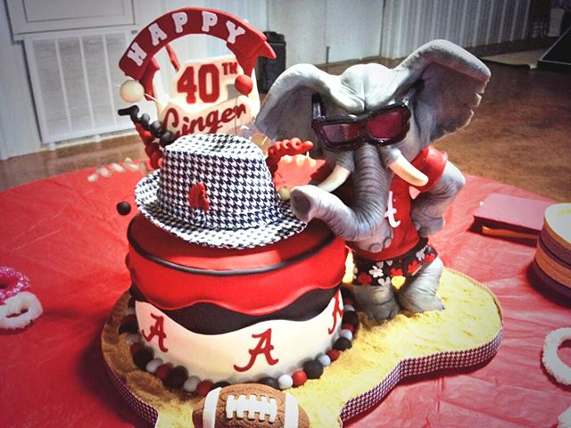 44 Alabama College Football Cakes – Roll Tide!