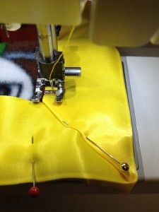 How to Attach Satin Blanket Binding #sewing
