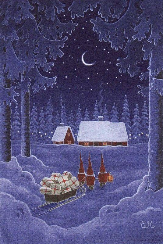 замечательныe иллюстрации Евы Mелхьюш (russian) Illustration by Eve Melhyush