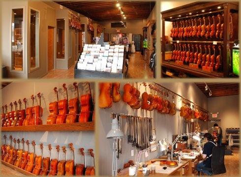 I bought my violin at this violin shop in Skokie.