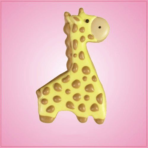 Make some of the cutest cookies with the Cute Giraffe Cookie Cutter to make some treats that everyone will be clamoring for! Our Cute Giraffe cookie cutters are just under 3-1/2 inches tall, 2-1/4 inc