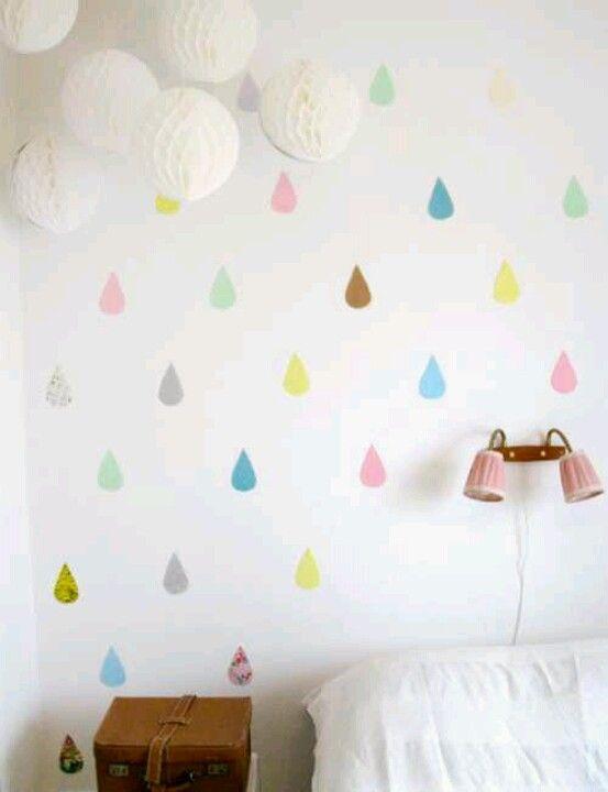 Fun Bright Kiddy Wall!