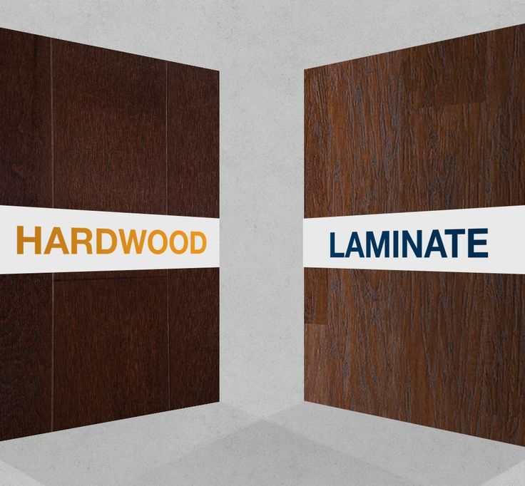 17 best images about flooring tips hints on pinterest - Difference between hardwood and laminate ...
