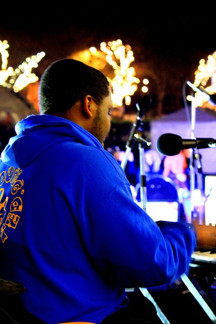 Jordan, Singing tutor at Y&T giving the start to this amazing Choir.