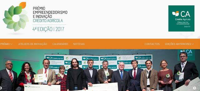 4th Edition Prémio Empreendedorismo e Inovação Crédito Agrícola  until 24 JUL 2017