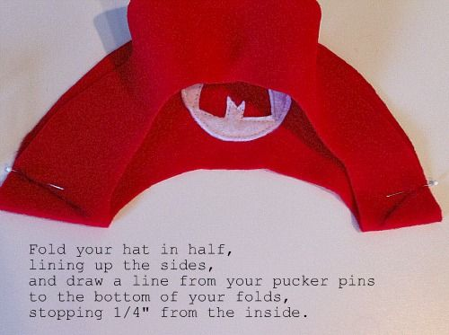 Mario hat step-by-step tutorial