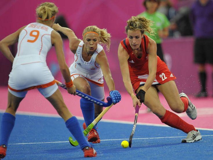 Dutch vs Great Britain field hockey