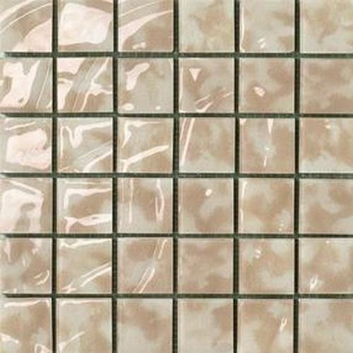 #Settecento #Musiva Beige Cappuccino 4,5x4,5 Auf Netz 28,6x28