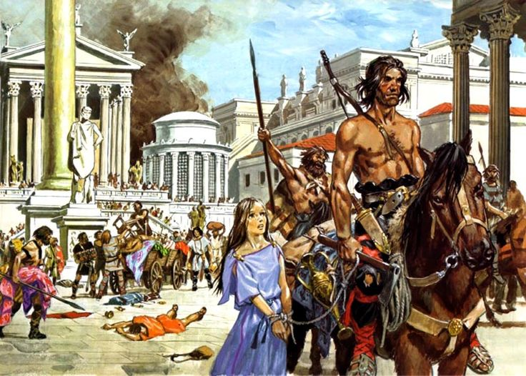 the end of the roman era The fall of rome was an arduous, drawn-out process, lasting  rise of the  barbarians and the beginning of the end of the roman empire.