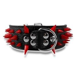 Cool Spiked Leather Collar