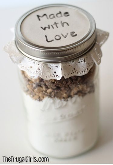 Gifts in a Jar Lid Ideas from TheFrugalGirls.com