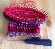 Knitting Board Sock Loom Patterns : 17 migliori idee su Sock Loom su Pinterest Lavori a maglia a telaio, Telaio...
